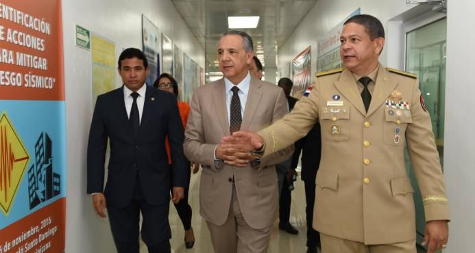 general Rafael Antonio Carrasco, informó que el citado sistema será puesto en funcionamiento en los próximos días para beneficio de la población dominicana.