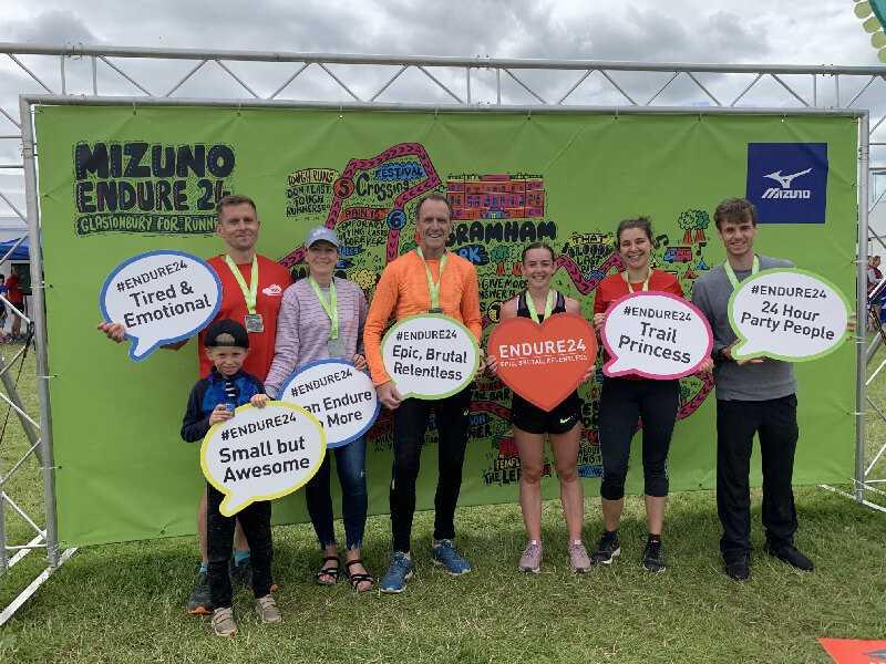 Endure 24 Finish Team Photo