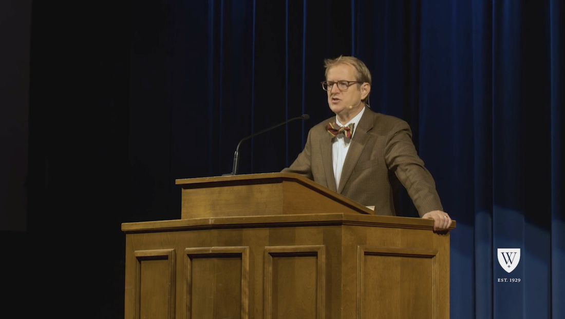 Listen to Dr. Chad Van Dixhoorn's on the trends in Presbyterianism leading to the formation of the OPC and Westminster Seminary.