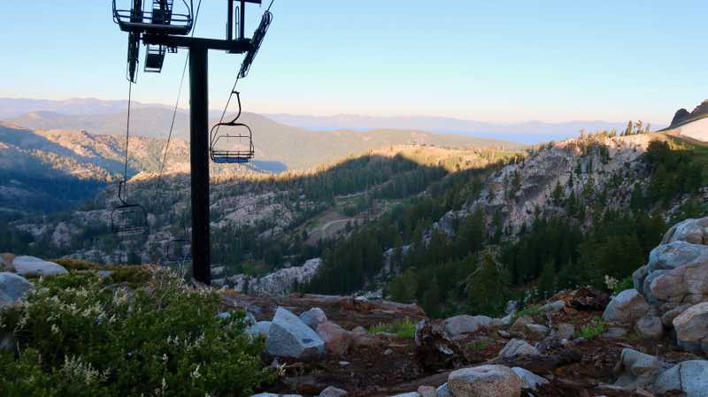 A Squaw Valley ski lift