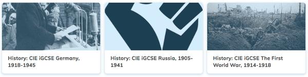 History Revision Cambridge iGCSE Courses