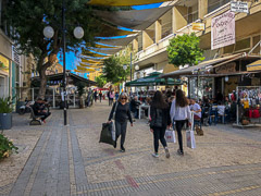 Ledras Street. As close as I really got to Northern Cyprus.  Nicosia, Cyprus, 2019