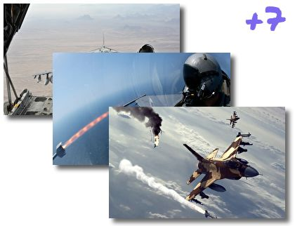 Military Aircrafts theme pack