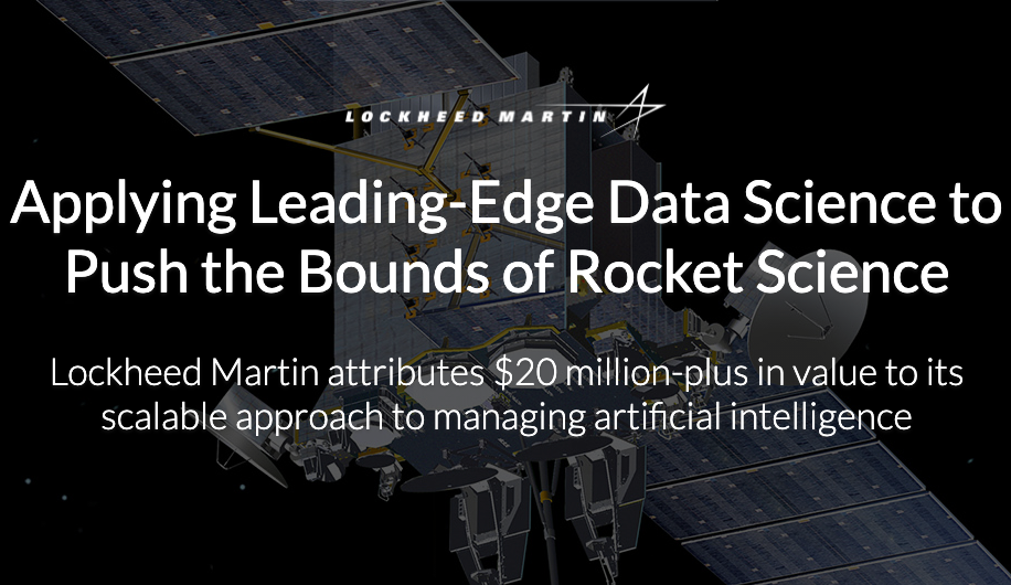 Lockheed Martin: Applying Leading-Edge Data Science to Push the Bounds of Rocket Science