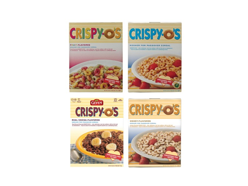 Gefen Crispio's Cereal Range (680g)