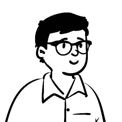 Portrait Doodle of Danny de Vries