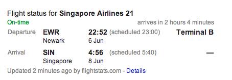 singapore air flt. 21