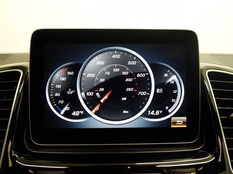 Mercedes-Benz GLE Coupé 350D AMG 4MATIC 259pk Aut- Pano, Harman/Kardon, Leer, 360 Camera afbeelding 11