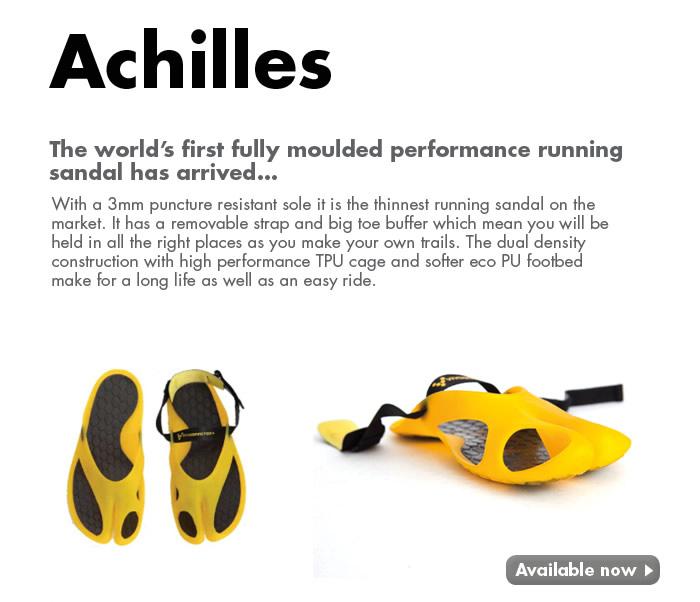 VivoBarefoot Achilles Running Sandal.