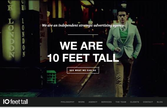 10 Feet Tall