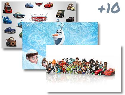 Pixar theme pack