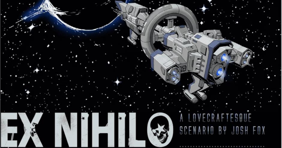 Screenshot des Coverbildes von Ex Nihilo