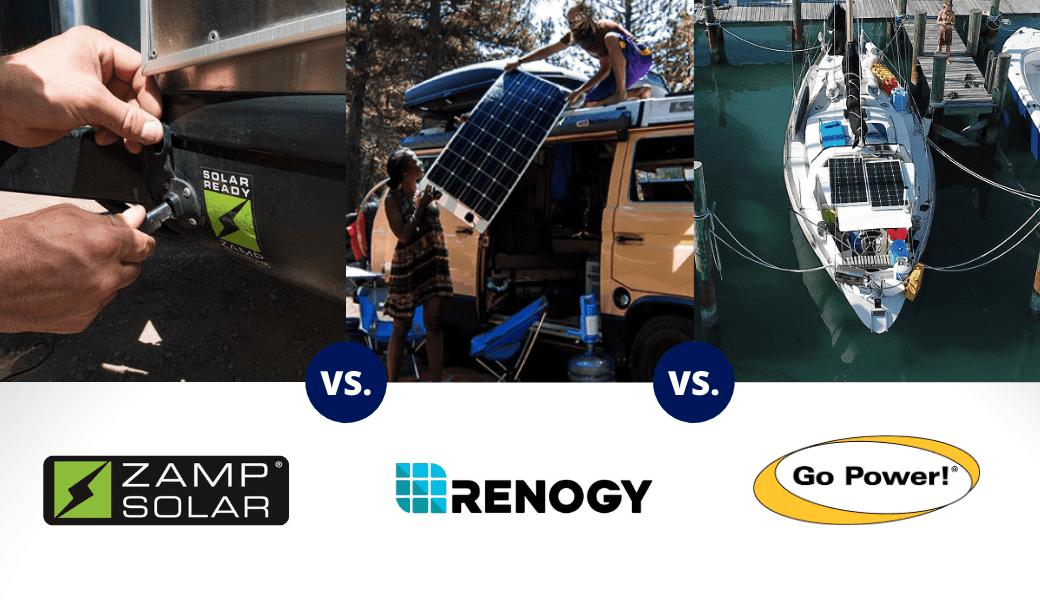 Zamp Solar vs. Renogy vs. Go Power! - Cover Image