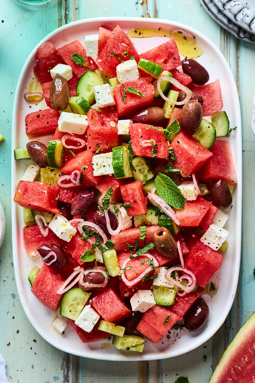 Watermelon Feta Salad