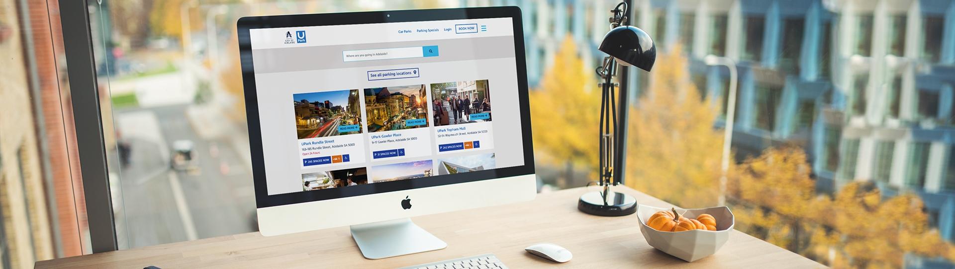 UPark Responsive Web Design