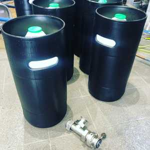 We've made the sustainable leap to @ecokegeurope for our kegged beer range. These are the 30l slimlines which are quicker to fill and The Re-usable outers are made from recycled milk bottles! #ecokeg #recycling #bucksbusiness #nanobrewery #highwycombe