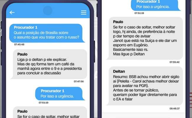 Mensagens mostram que procuradores sabiam que Moro divulgaria conversas de Lula