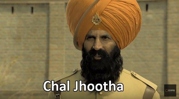 Akshay Kumar in Kesari trailer Chal Jhootha