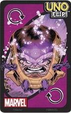 Uno Flip!: Marvel Purple Uno Reverse Card (Dark Side)