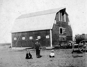 A farm in Canada on which Jim Williamson worked when he emigrated to the area