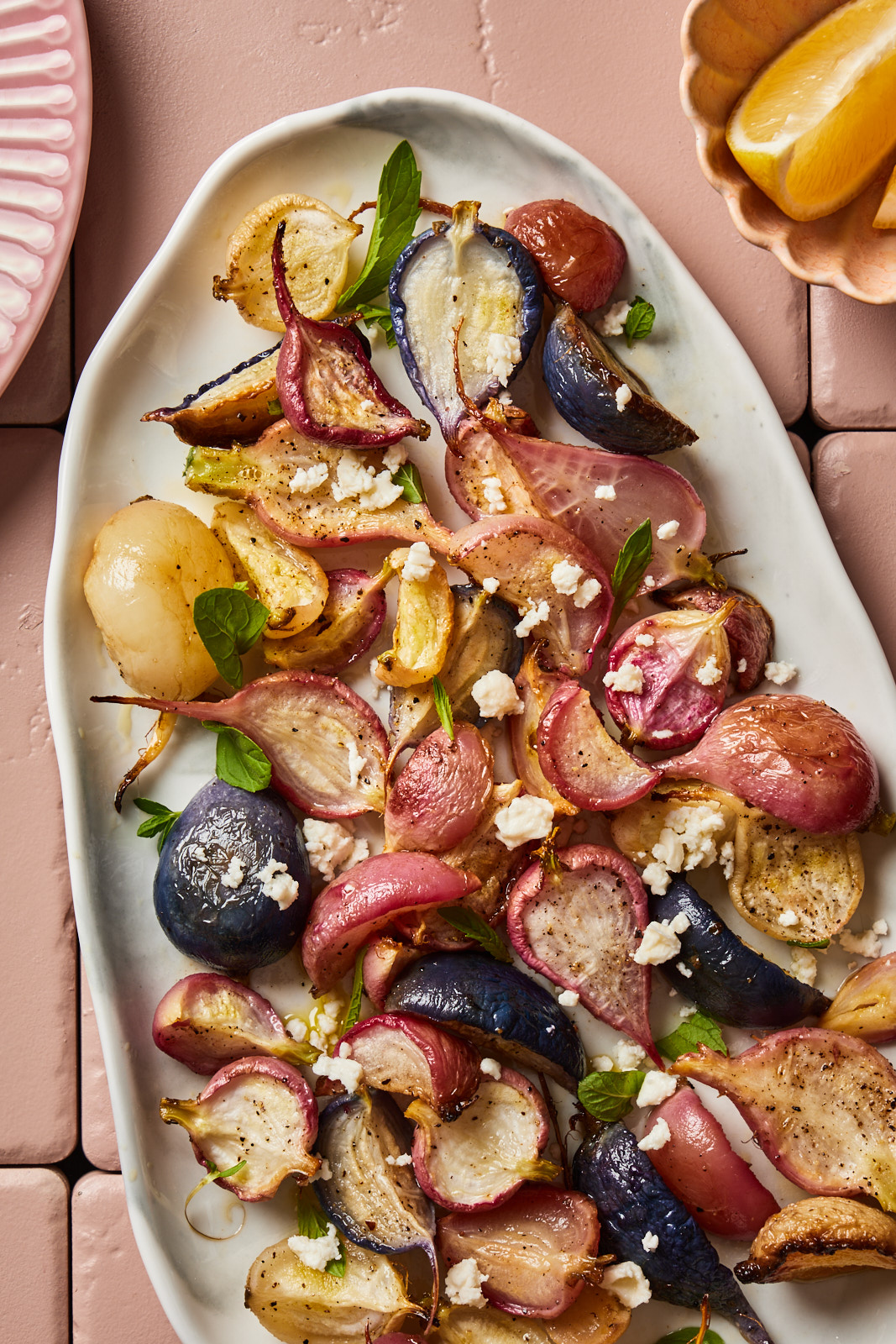 Simple and Delicious Roasted Radishes