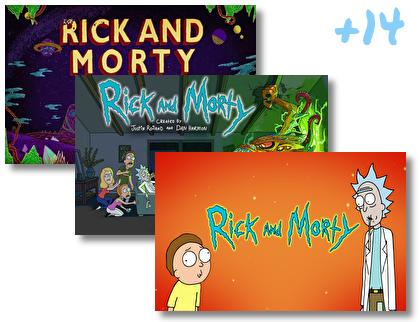 Rick and Morty theme pack