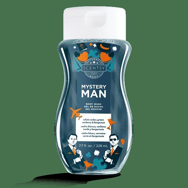 Mystery Man Body Wash