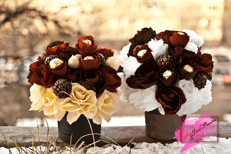 Cutii cu flori - Mini Flowers