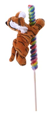 "The Petting Zoo: 7"" Lolly Plush Tiger"