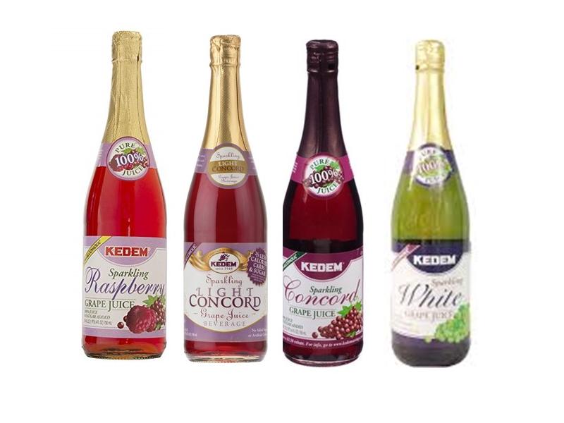 Kedem Sparkling Grape Juice Collection (750ml)