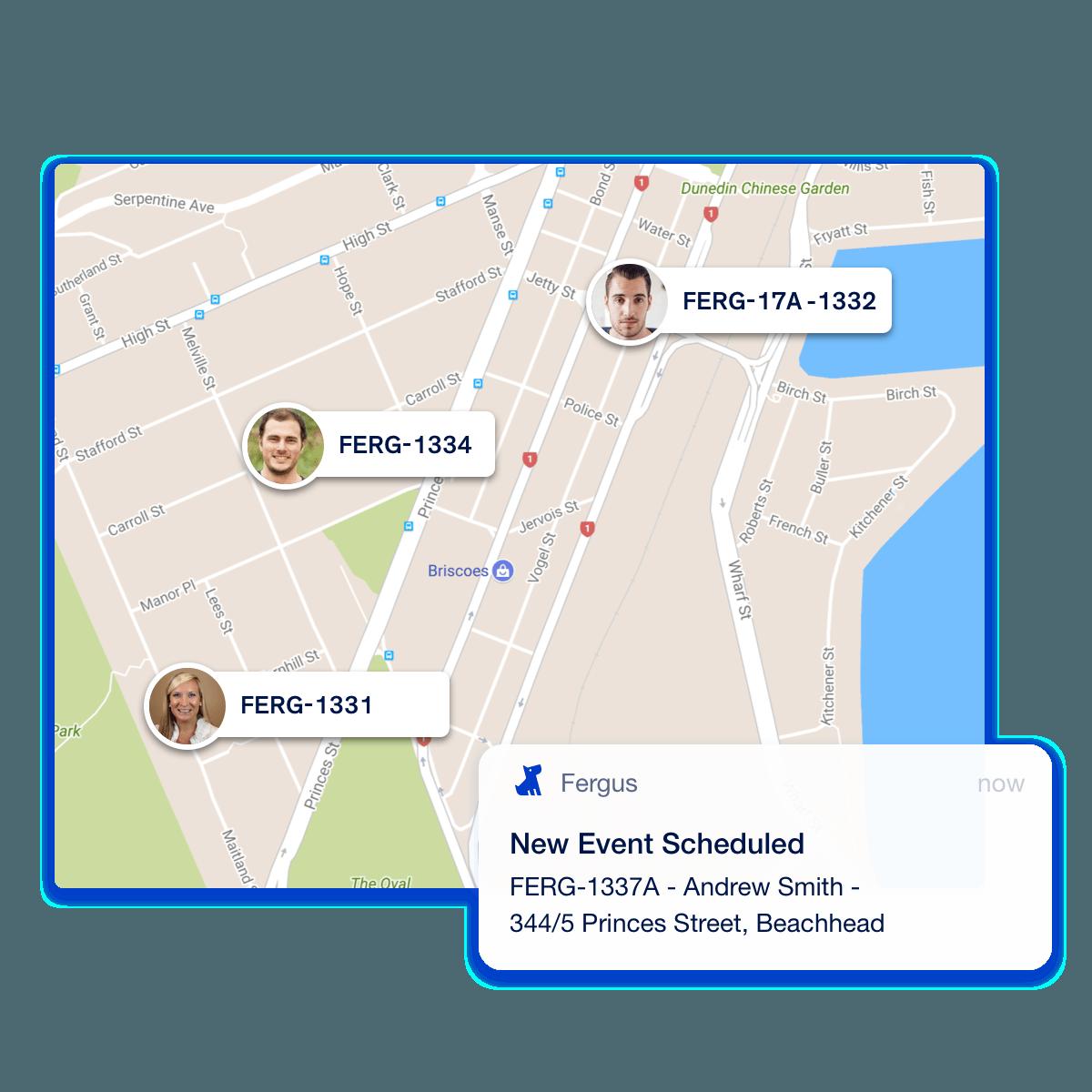 Fergus Map