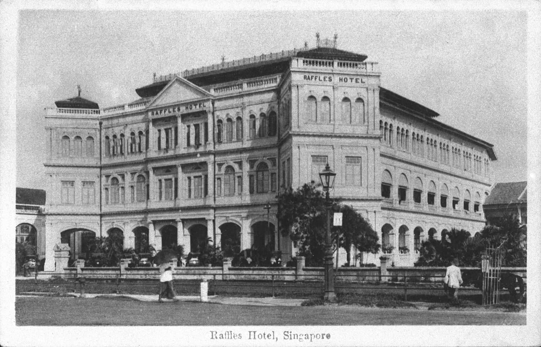 Raffles Hotel, 1900s