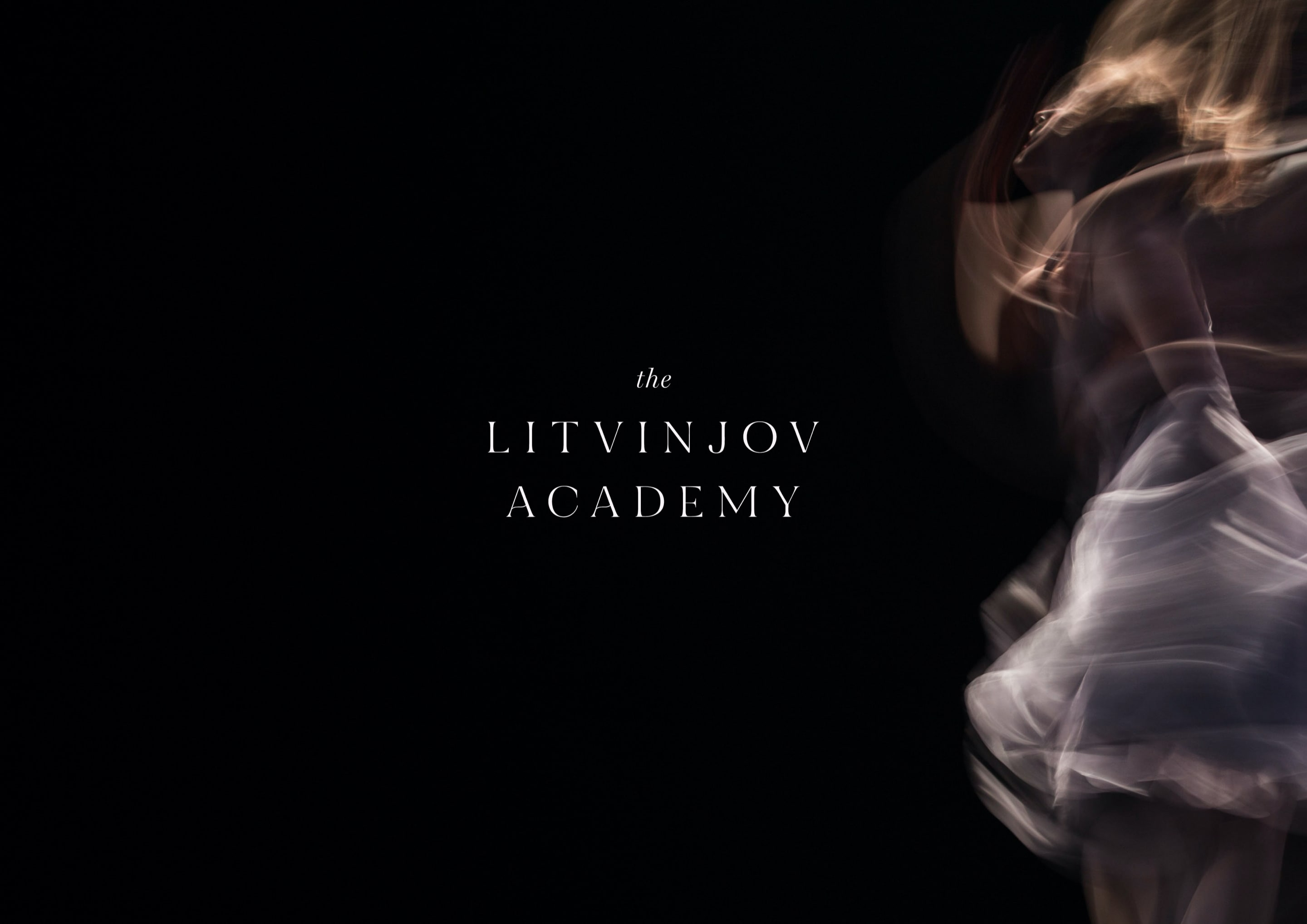 Prestigious logo design for ballet and contemporary dance school, The Litvinjov Academy