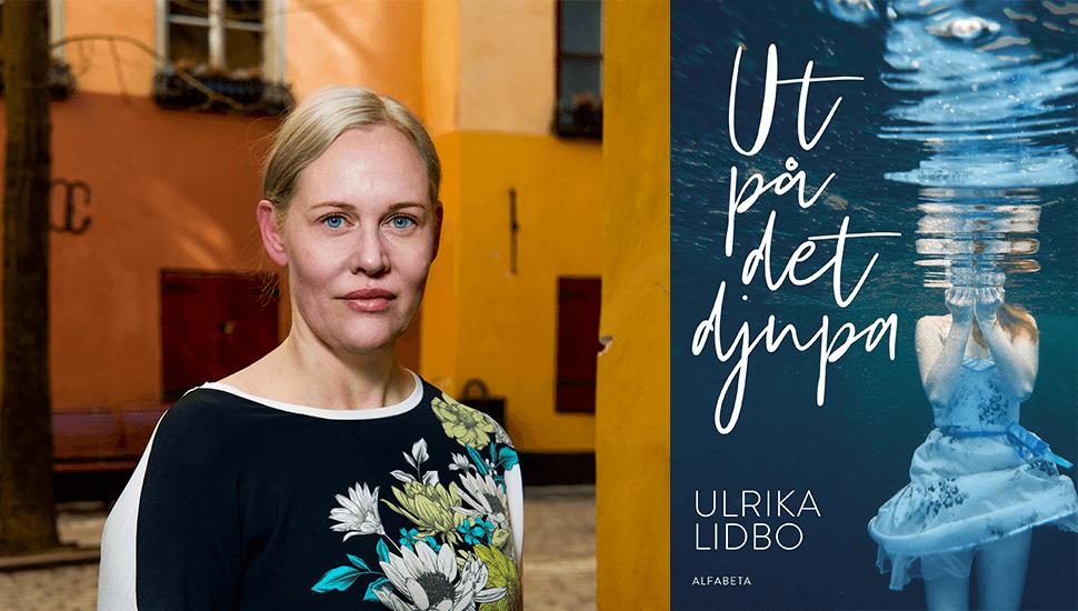 """Ulrika Lidbo om sin nya ungdomsroman Ut på det djupa: """"Vem som helst kan fastna i ett missbruk. Jag ville skriva om det."""""""