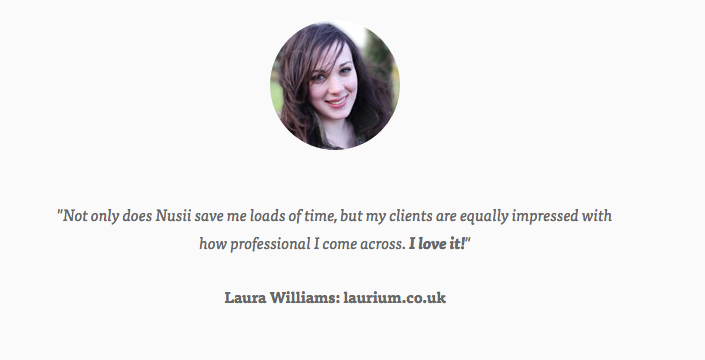 Testimonial Laura Williams