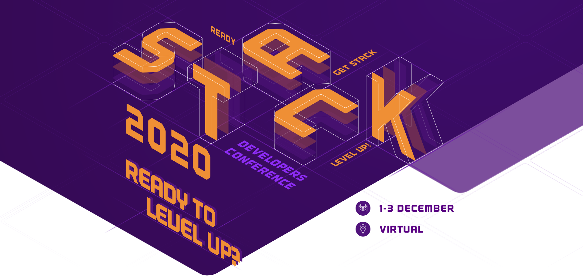 STACK2020, COME AND LEVEL UP!!