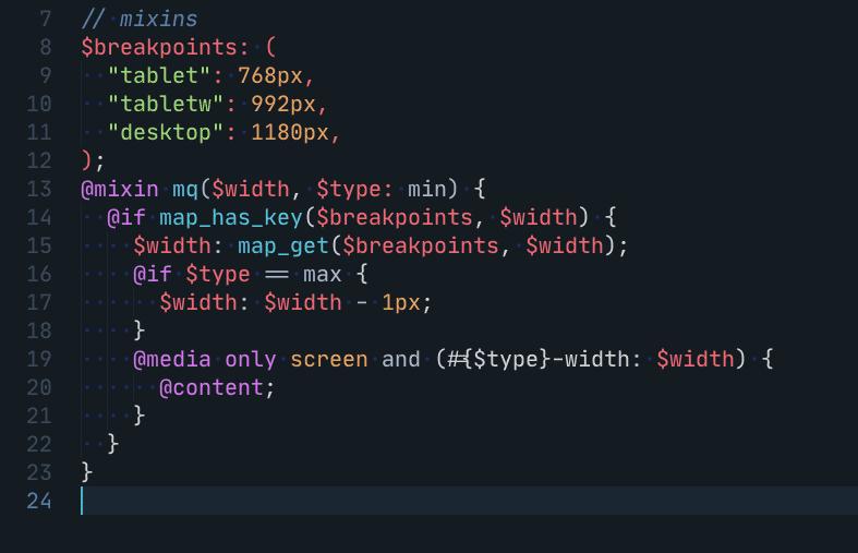 VS Code- Mixin 1