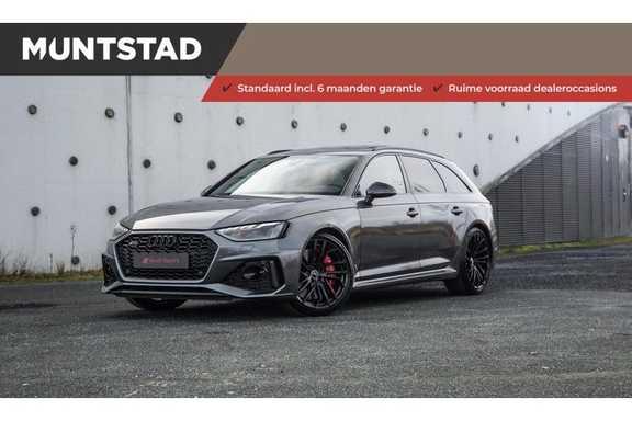 Audi A4 Avant 2.9 TFSI RS4 quattro 450PK   Pano.Dak   Sportuitlaat   RS Sportonderstel dynamic+   Ceramic Brakes   Head-Up   B&O Sound  
