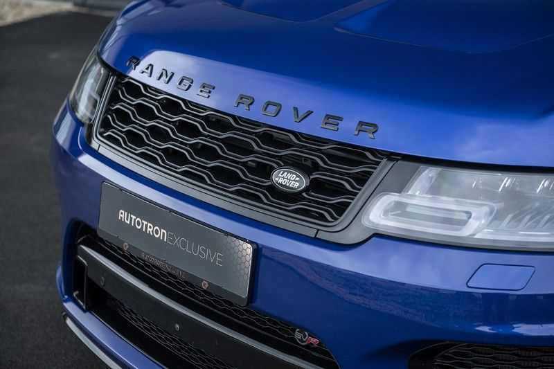 "Land Rover Range Rover Sport P575 SVR Carbon SVR motorkap + Drive Pro Pack + Panoramadak + 22"" + Stoelkoeling + Head-Up + Stuurwielverwarming + Carbon interieur afbeelding 10"