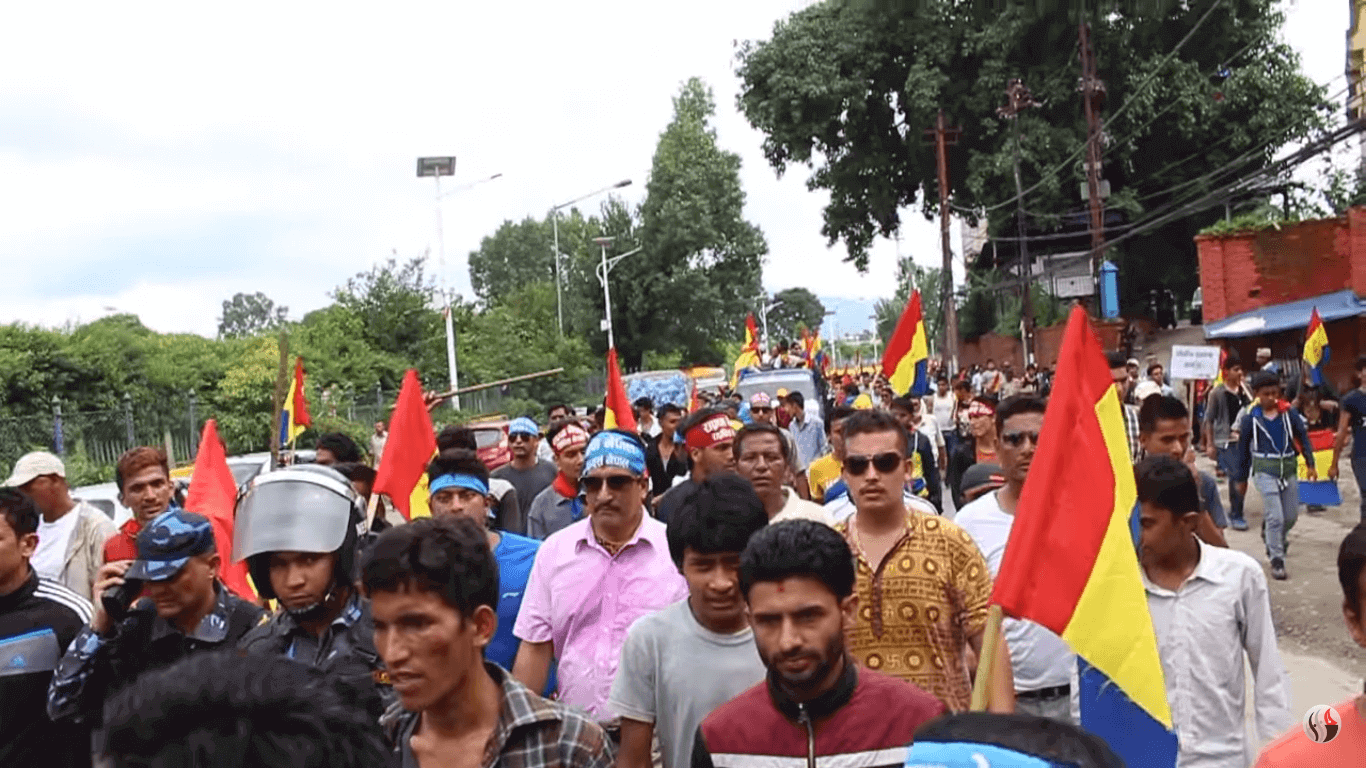 Protest/Strike or Julus in Nepal