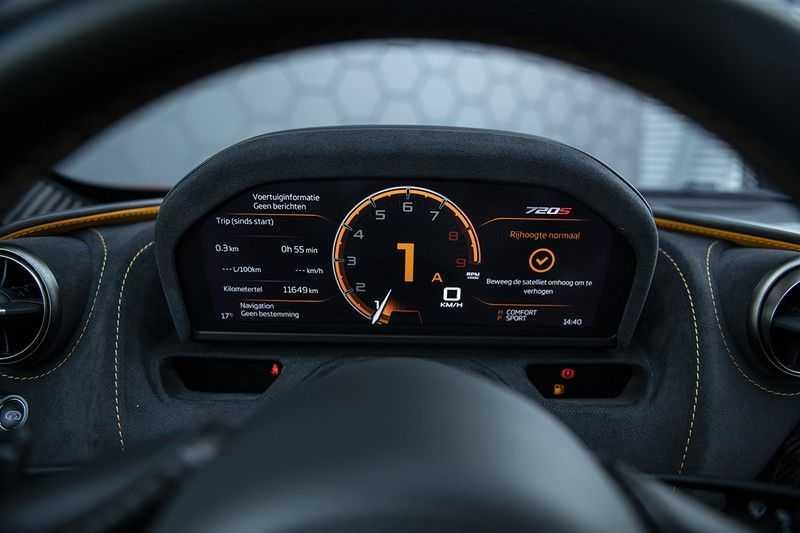 McLaren 720S 4.0 V8 Performance BTW + CF INTERIOR + LIFTING + SOFT CLOSE afbeelding 14