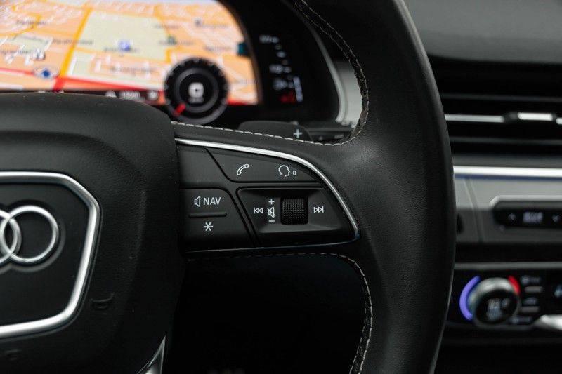 "Audi SQ7 4.0 TDI V8 Quattro 435pk 7 Pers. Panoramadak BlackOptic B&O NightVision Luchtvering ACC ValconaLeder+Memory Matrix Head-Up Navi-High Keyless Trekhaak 22"" Camera Pdc afbeelding 23"