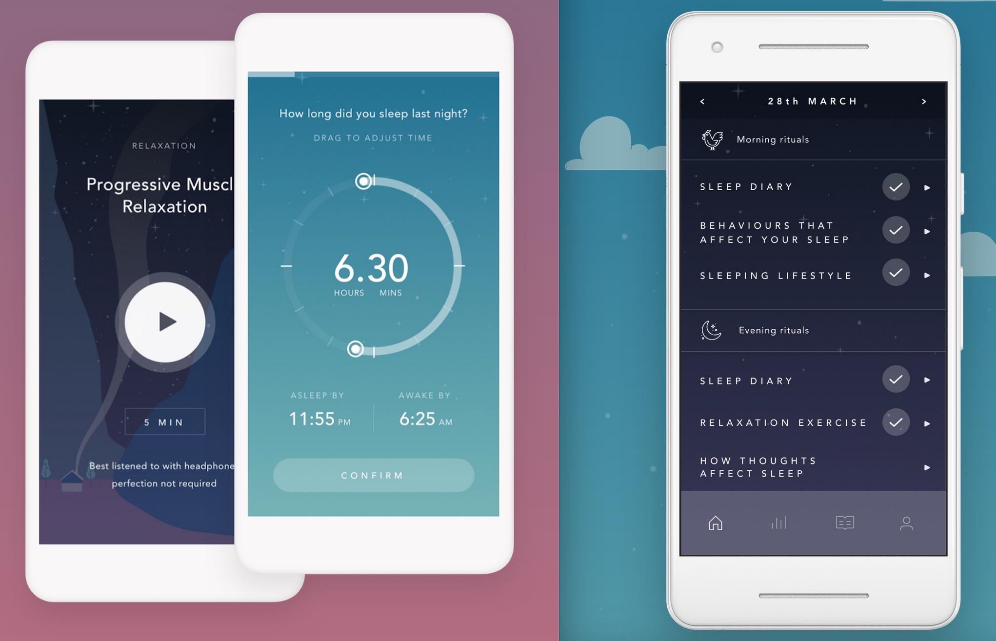 Lull mobile app
