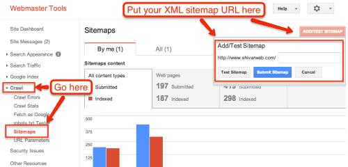 add xml sitemap
