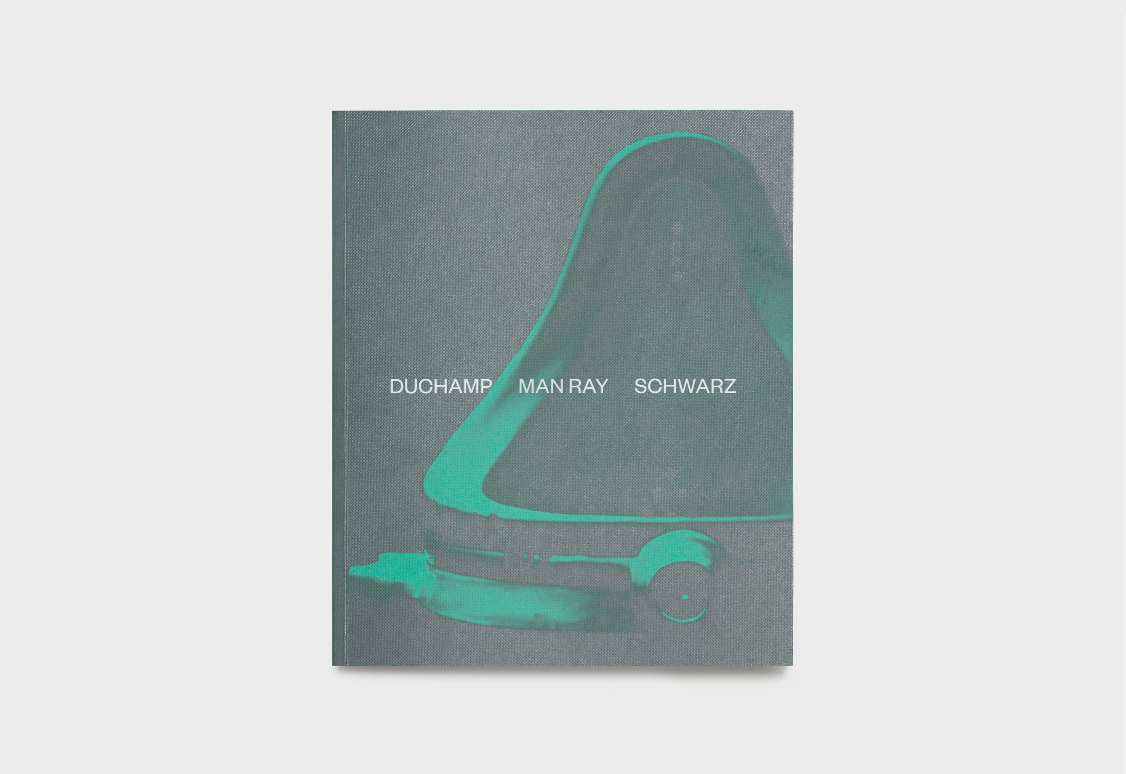 Duchamp, Man Ray, Schwarz exhibition catalogue designed by She Was Only