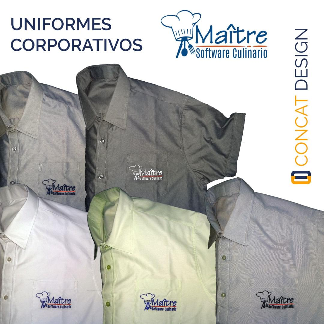 Uniformes para MAITRE Software Culinario