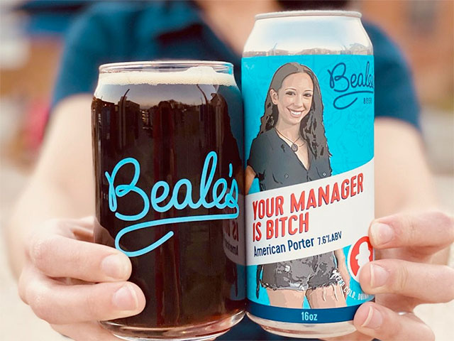 Your Manager Is Bitch from Beale's Brewery in Virgina