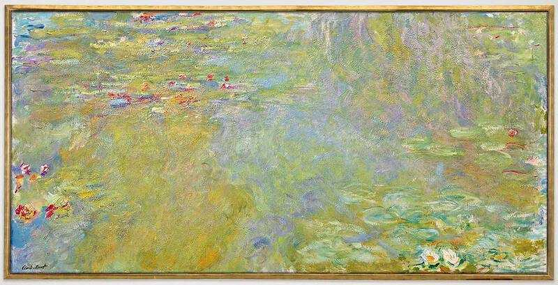 Monet's Le Bassin Aux Nympheas was sold for $31.8 million in November 2018