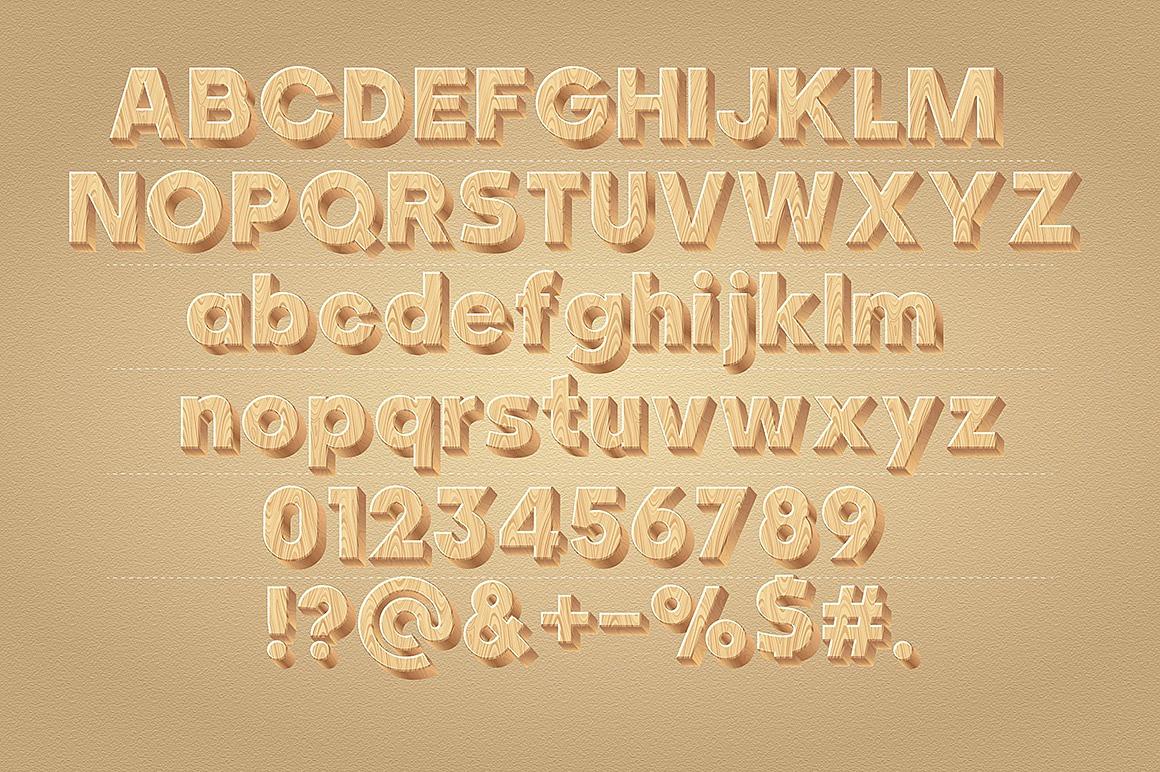 Wooden Alphabet images/1-3D-wood-typography_2.jpg