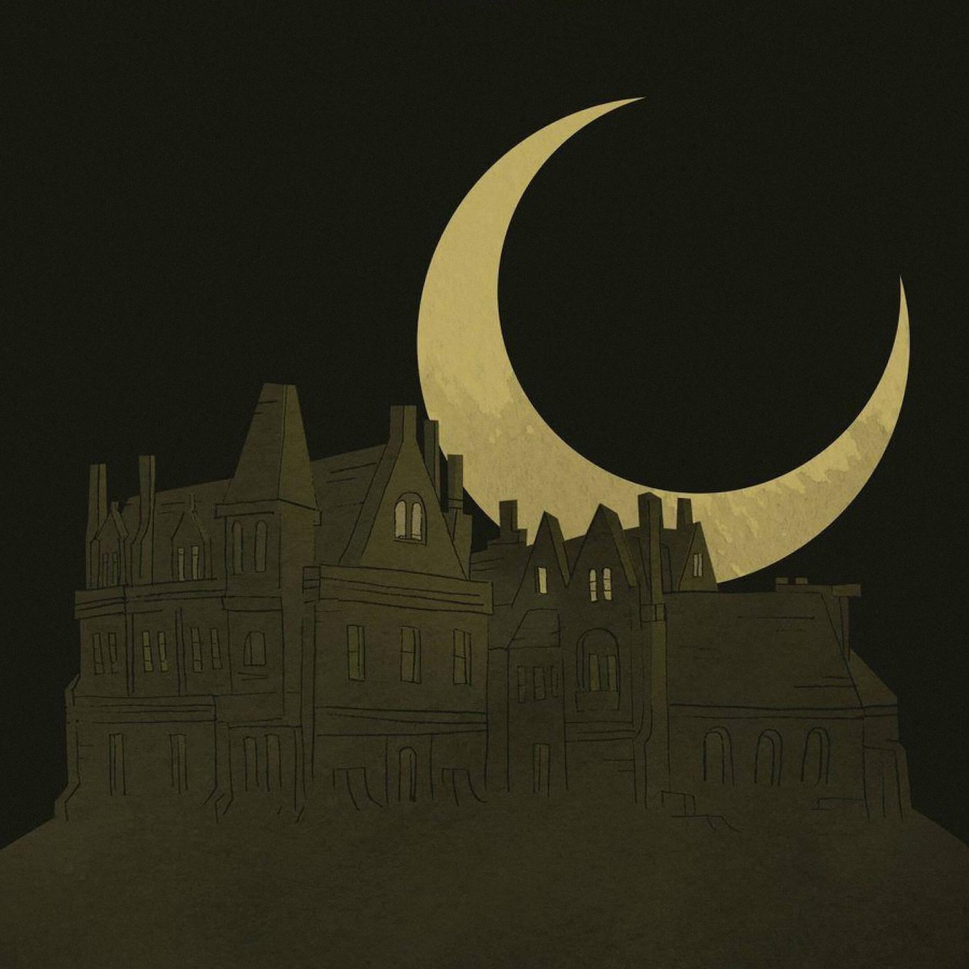 Иллюстрация собложки книги «Призрак дома нахолме» Ширли Джексон. Источник: godoggocafe.com